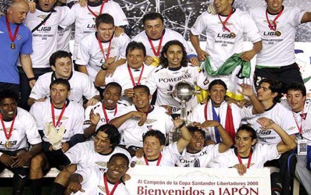 < LIGA Campeón de la Copa Libertadores 2008 quiere ganar su primer título nacional desde 2010.