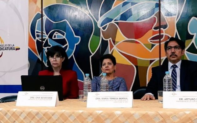 Defensoría censuró que procurador Salvador solicitara la conclusión de las labores del equipo especializado. Foto: Defensoría Ec.