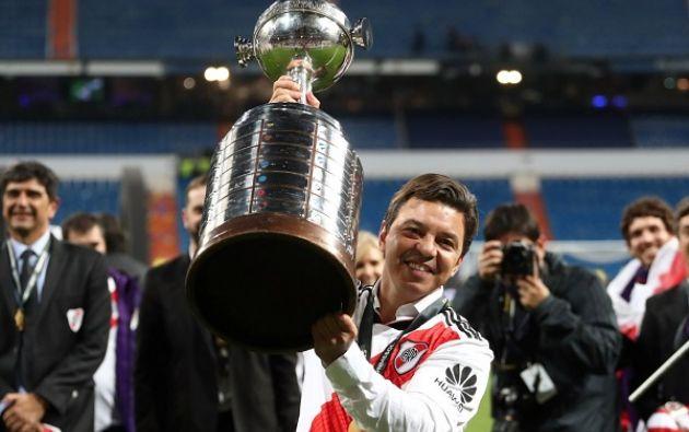 Formado en la cantera de River, fue uno de los niños mimados de Daniel Passarella. Ganó ocho títulos con el club millonario, Libertadores incluida. Jugó dos Mundiales (1998 y 2002). Foto: Reuters