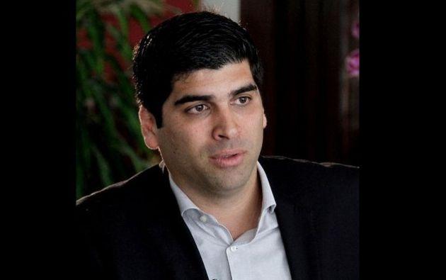Aunque sus apellidos 'Sonnenholzner Sper' sean de origen alemán y libanés, el nuevo vicepresidente es guayaquileño. | Foto: Internet