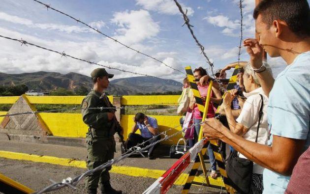 Cada día entran a Colombia con vocación de permanencia 1.500 venezolanos. Foto: AFP