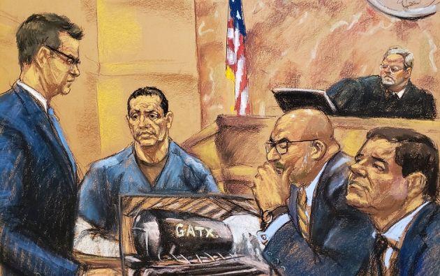 El juicio a Joaquín Guzmán tiene previsto durar unos cuatro meses. | Foto: Reuters.