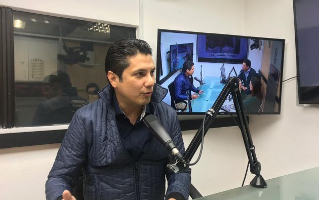 Balda dijo que el dinero para su secuestro en Colombia salió de la Presidencia, Senain y Policía. Foto: Twitter @radiosucesosec