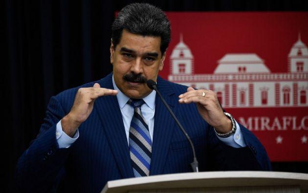 Maduro acusó al mandatario colombiano de dirigir personalmente acciones militares contra la llamada revolución bolivariana. Foto: AFP