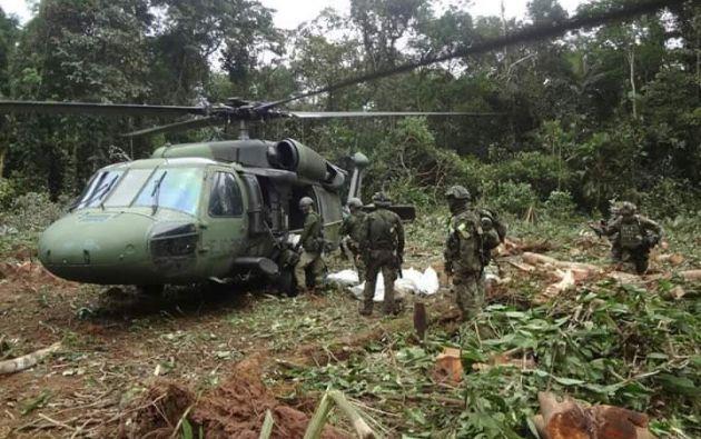 """Ecuador """"reconoce y agradece"""" acción de Colombia en operativo contra """"Guacho"""". Foto: Twitter - Referencial"""