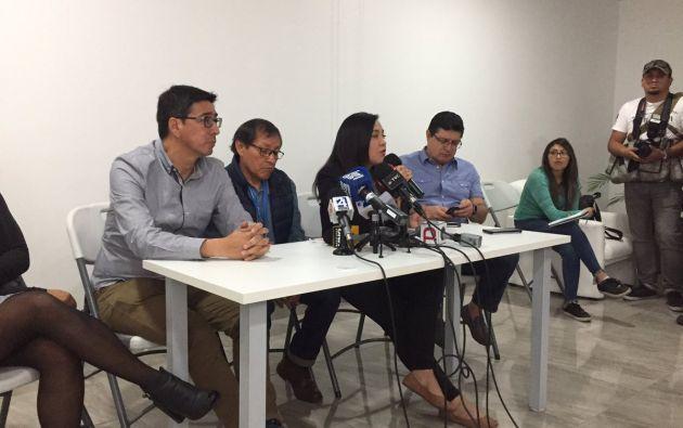"""Familias de periodistas: la muerte de Guacho no es """"trofeo. Foto; Twitter - Fundamedios"""