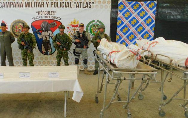 La identificación del cuerpo se realizó en Tumaco, donde fue trasladado en helicóptero.