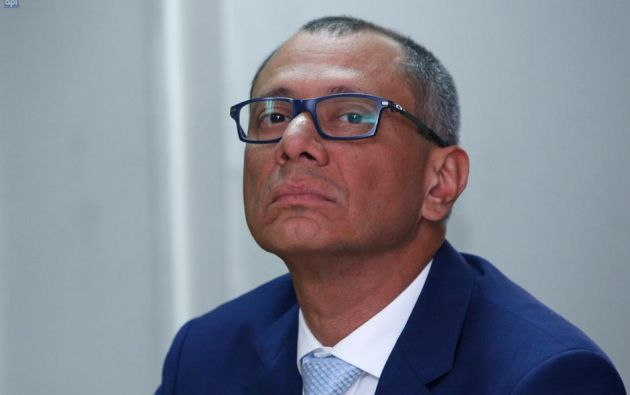 Glas fue sentenciado en primera instancia a 6 años de prisión en el caso Odebrecht. Foto: archivo