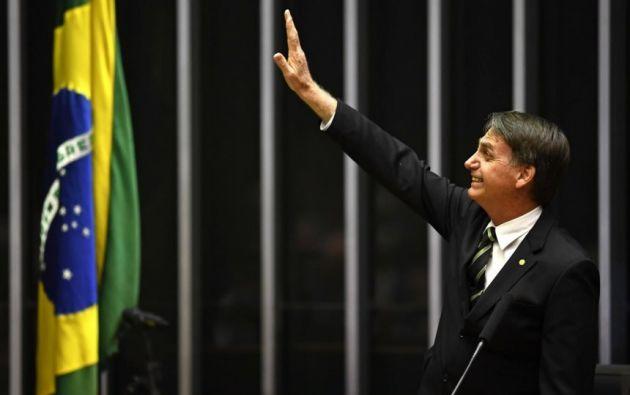 BRASILIA, Brasil.- El político se dio a conocer por sus opiniones misóginas, racistas y homófobas y no por su larga actuación en el Congreso. Foto: AFP.
