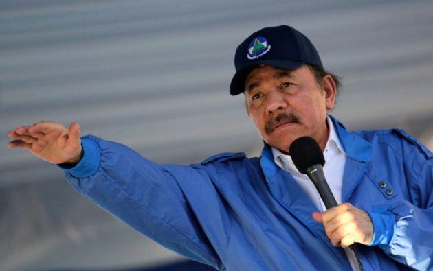 """Ortega calificó de """"ilegal"""" la posible aplicación de la Carta Democrática de la OEA en Nicaragua. Foto: AFP"""