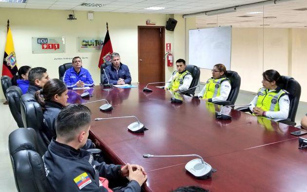 El Municipio presentó el balance de los incidentes registrados durante el feriado de fin de año 2018. Foto: @SeguridadeQuito