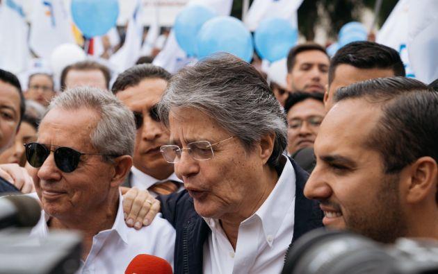 GUAYAQUIL,Ecuador.- El líder del movimiento CREO sostiene que será un gesto de respaldo al sufrido pueblo venezolano. Foto: Twitter Guillermo Lasso