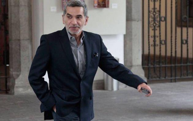 El exsecretario de Comunicación, Fernando Alvarado, está prófugo de la justicia desde octubre de 2018. Foto: archivo