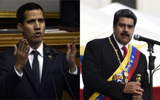 Guaidó pidió el apoyo de los ciudadanos, los militares y la comunidad internacional para asumir el mando del Ejecutivo. Foto: AFP / collage Vistazo