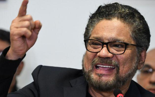 Número dos de la antigua guerrilla de las FARC, Iván Márquez. Foto: AFP