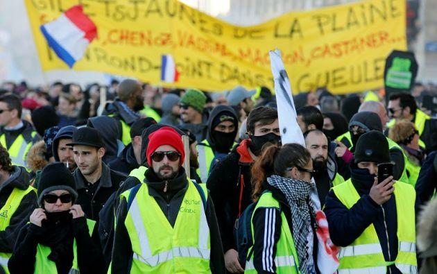 Las imágenes de los enfrentamientos violentos tuvieron consecuencias para el turismo. Foto: Reuters
