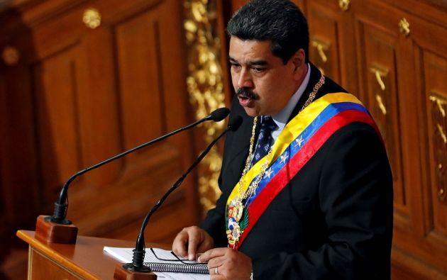 Maduro acusó a los Gobiernos de 11 países latinoamericanos de supuestamente estar detrás de planes desestabilizadores. Foto: Reuters