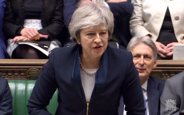 La moción de censura podría desembocar en unas elecciones generales anticipadas en el Reino Unido. Foto: AFP