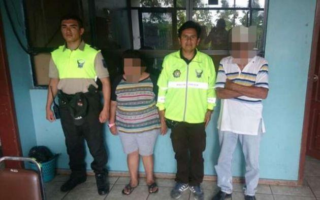 El rescate de la menor sucedió en un lugar público, mientras era abusada sexualmente por un hombre de la tercera edad. Foto: tomada de Diario La Hora.