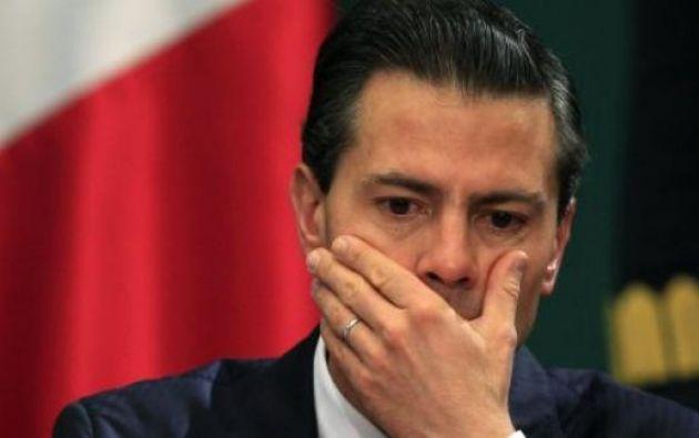 El portavoz de Peña Nieto negó el pasado noviembre que el antiguo mandatario hubiera aceptado sobornos. Foto: Reuters
