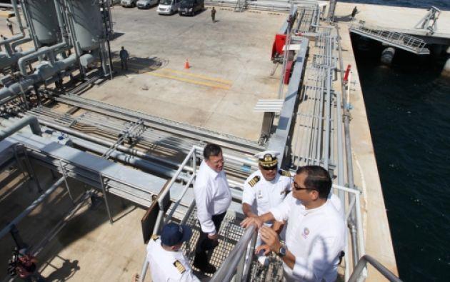 Terminal Marítimo Monteverde. Foto: archivo Presidencia