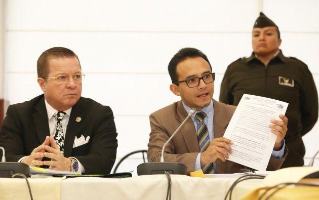 Lenín Rodríguez, exasesor de la asambleísta Ana Galarza. Foto: Asamblea Nacional