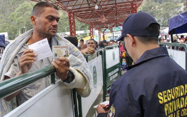 Desde hoy se requerirá a los venezolanos la presentación del pasado judicial apostillado. Foto: AFP