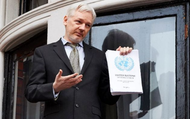 Los abogados del australiano piden también a la Comisión que obligue a Ecuador a impedir una extradición hacia Estados Unidos. Foto: AFP