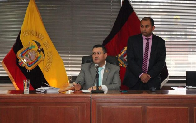 El juez de la Corte Nacional dictó a Vicuña la prohibición de salir del país. Foto: Fiscalía