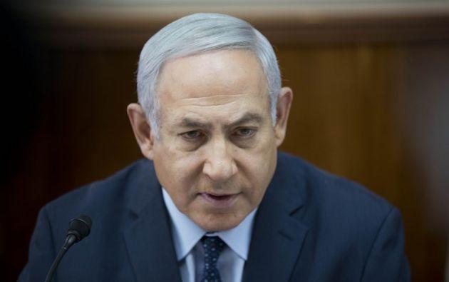 Primer ministro israelí, Benjamin Netanyahu. Foto: AFP