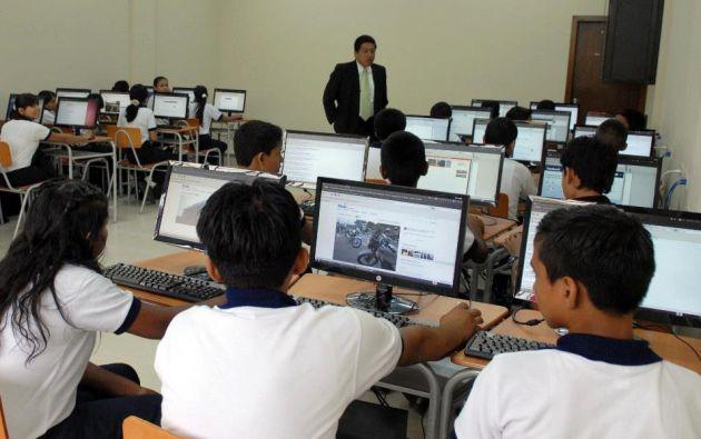 """""""Se contratarán a más profesores en caso de ser necesario"""", dijo el ministro. Foto: archivo"""
