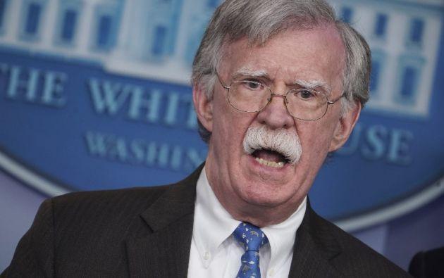 """Bolton aconsejó a Maduro y sus principales asesores que """"aprovechen la amnistía"""". Foto: AFP"""