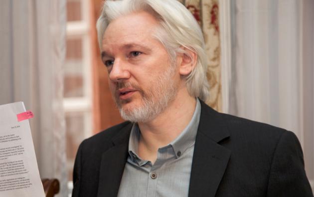 """Assange también solicitó a la CIDH que se """"termine la situación de aislamiento"""" y que se garantice su privacidad. Foto: Cancillería"""