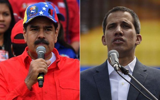 """Según Guaidó, la información le fue filtrada por """"altos funcionarios"""". Foto: AFP"""