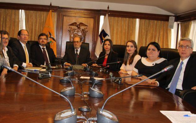El Pleno de la Corte eligió a Salgado como su Presidente y Salazar como su vicepresidenta para el período 2019-2022.