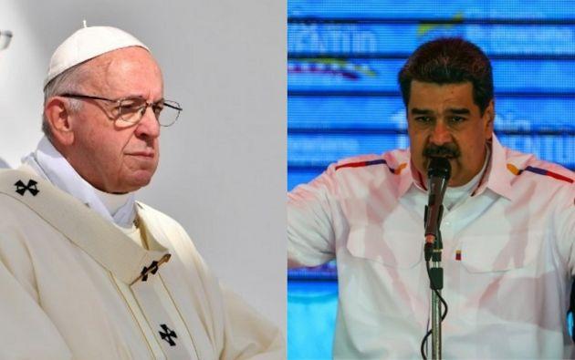 Se trataría de una respuesta dura y decidida del pontífice latinoamericano al pedido de mediación. Fotos: AFP