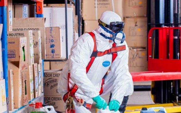 Los químicos en artículos de limpieza contaminan más que autos. Foto: PxHere