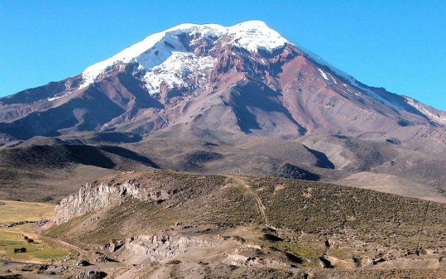 El Carihuairazo está a 5.025 metros de altura. Foto: Ministerio del Ambiente