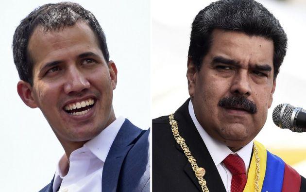 Venezuela está sacudida por una pugna de poder desde el 23 de enero, cuando Guaidó se autoproclamó presidente interino. Foto: AFP.