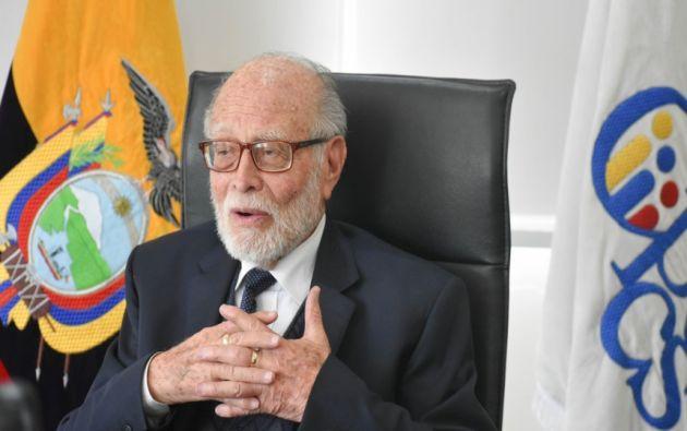 Trujillo anunció que el CPCCS-T no renunciará a sus funciones y atribuciones de designación de autoridades que son de carácter extraordinario.