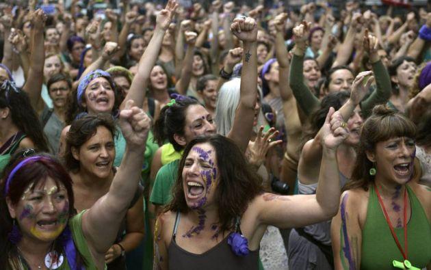 """Hoy fue el primer día del foro denominado """"El aporte de las mujeres al logro de los Objetivos de Desarrollo Sostenible (ODS)"""". Foto de archivo: AFP."""
