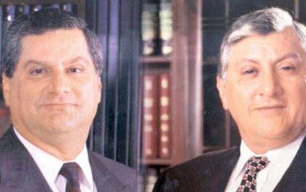 Roberto y William Isaías fueron sentenciados a ocho años de prisión por el delito de peculado bancario en la quiebra del Filanbanco.