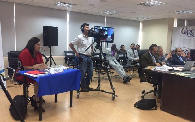 "Fiscal Palacios: ""No he ido por ninguna lista"" de Odebrecht. Foto: Twitter"