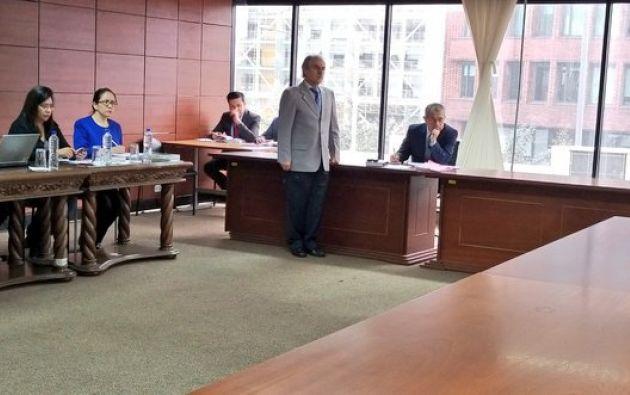 Exfuncionario de la Senain vinculado en caso de peculado. Foto: Corte Nacional de Justicia