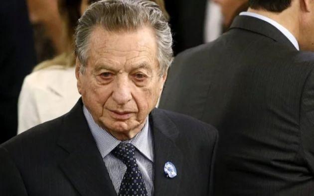 Muere Franco Macri, padre del presidente y destacado empresario. Foto: Reuters