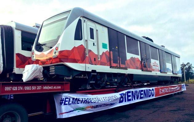 """La primera línea del metro permitirá la movilización ciudadana desde """"Quitumbe"""" (sur) a """"El Labrador"""" (norte), o viceversa, en 34 minutos."""