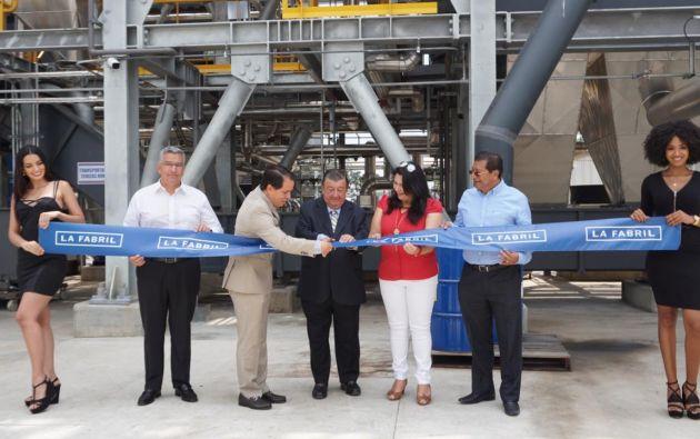 La inauguración contó con la presencia de los principales ejecutivos de la compañía.
