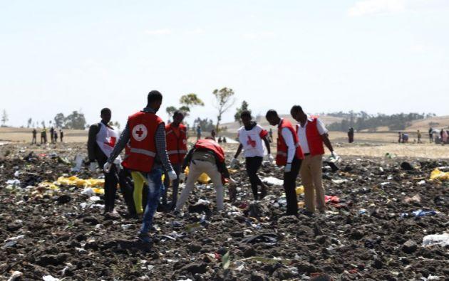 Las víctimas del accidente eran de 32 nacionalidades diferentes. Foto: AFP