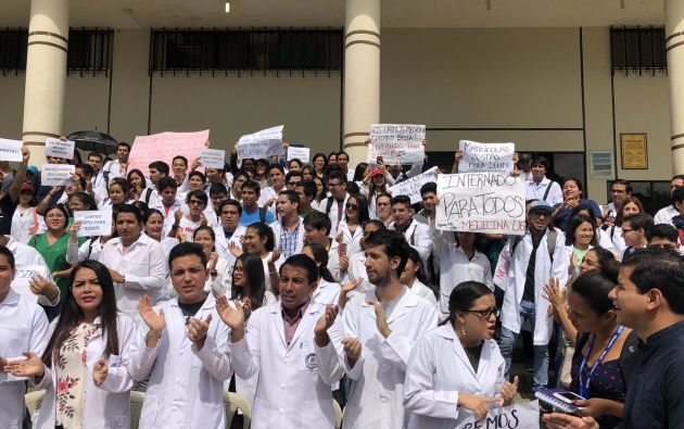 De acuerdo al decano de la facultad de Ciencias Médicas de la Universidad de Guayaquil, el número de estudiantes ha crecido considerablemente.