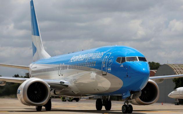 Las acciones de Boeing bajaron el lunes un 5,33 % en bolsa -aunque llegaron a caer un 12 %-. Foto: Reuters.